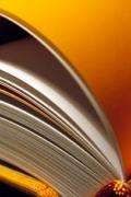 hardcover boek met leeslint